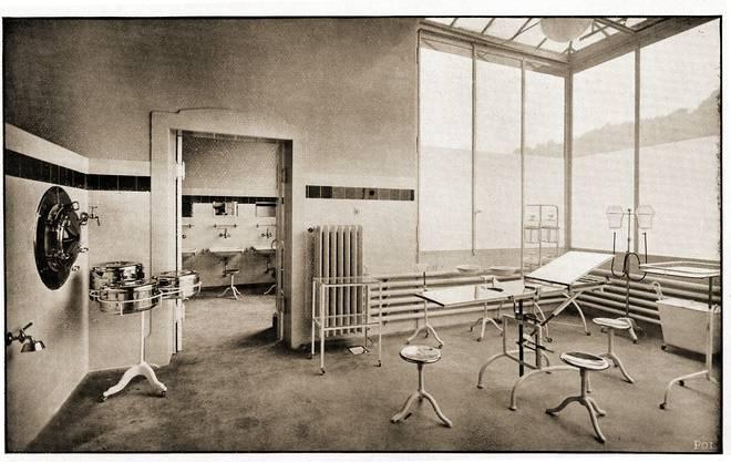 Lange Zeit gab es im Städtischen Krankenhaus nur einen einzigen Operationssaal