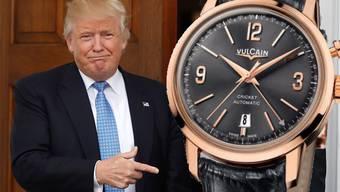 Die Armbanduhr hat einen Wert von rund 7000 Franken. Nach seinem Amtsantritt am 20. Januar 2017 wird auch Donald Trump eine erhalten.