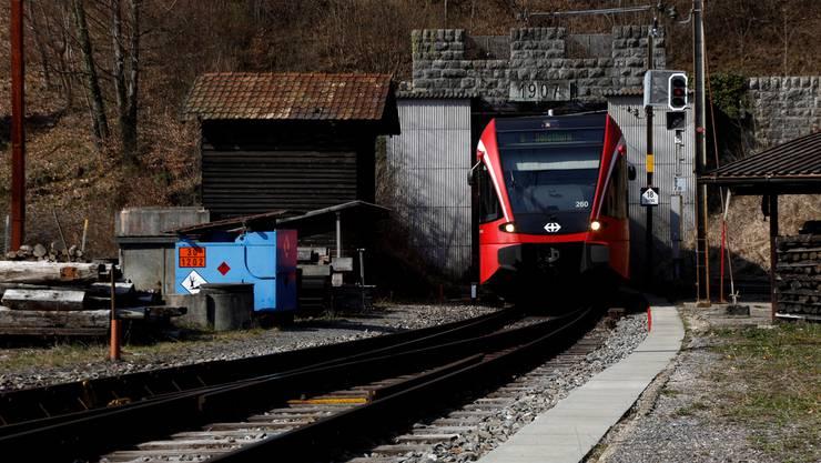Wann wechselt das Lichtsignal für die Sanierung des Weissenstein-Tunnels auf Grün?
