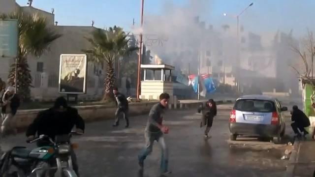 Unruhen im syrischen Idlib