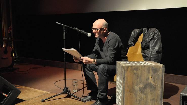 Mit 400 Geschichten im Gepäck war Paul Steinmann angereist