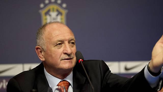 Kommt mit Brasilien in die Schweiz: Luiz Felipe Scolari