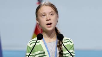 Reist erneut nach Lausanne: Die schwedische Klimaaktivistin Greta Thunberg. Hier am Klimagipfel in Madrid Mitte Dezember. (Archivbild)