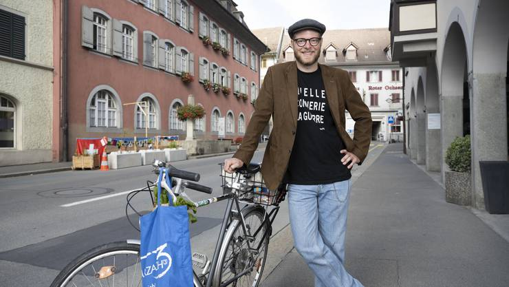 Gewerbepräsident Stefan Haus aus Bad Zurzach will seine Überzeugungen in Aarau einbringen.