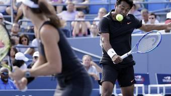 Martina Hingis und Leander Paes gewannen nach Melbourne und Wimbledon auch in New York