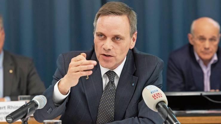 Der Aargauer Gesundheitsdirektor Jean-Pierre Gallati sagt: «In Zürich haben Clubs und Bars eine andere Bedeutung als bei uns.»