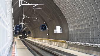 In Ceneri-Basistunnel ist es bei der zweiten kommerziellen Probefahrt zu einer Panne gekommen. (Symbolbild)
