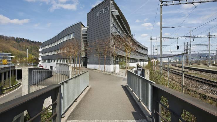Das Metron-Gebäude in Brugg.