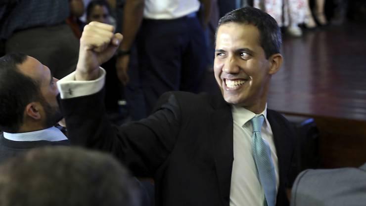 Will Präsident Nicolas Maduro stürzen: Venezuelas Gegenpräsident und Parlamentschef Juan Guaidó. (Archivbild)