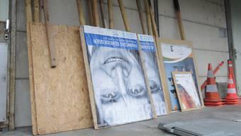 Grenchner Baudirektion lässt Wahlplakate entfernen