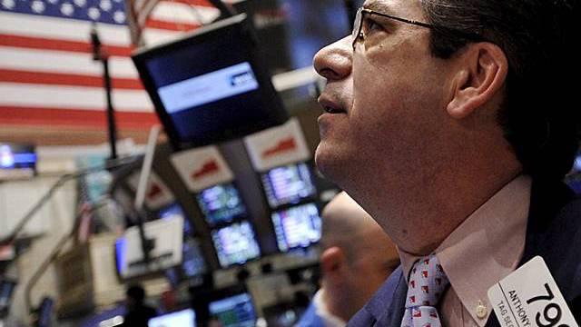 Händler an der US-Börse in New York