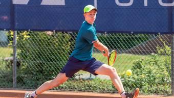 Jeffrey von der Schulenburg steht in der zweiten Runde der U18.