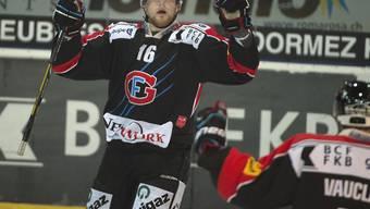 Martin Ness bei einem NLA-Spiel mit Fribourg-Gottéron