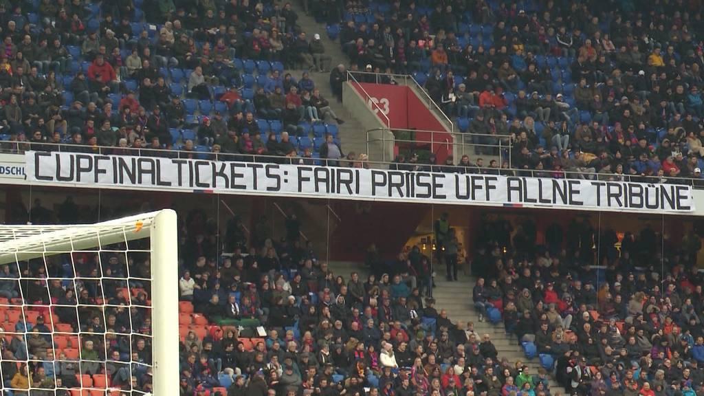 Basler Fussballfans dürfen individuell an den Cupfinal reisen