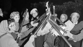 Aargauer gegen Frauenstimmrecht 1959