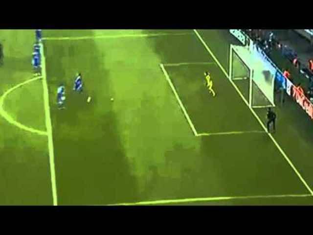 Der beschriebene Offside-Skandal von Schalke im Video.