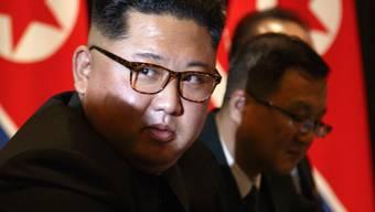 Kim Jong Un in Vietnam, wo er Donald Trump traf.
