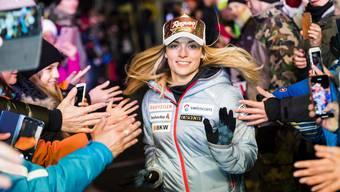 Nur den Kopfsponsor darf Lara Gut-Behrami selber wählen, über die restlichen Sponsoren entscheidet der Schweizerische Skiverband Swiss Ski.