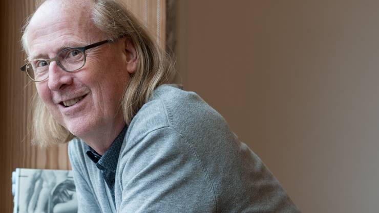 Jürg Zimmerli, Gründungsmitglied und heutiger Co-Leiter des Limmat Verlags. (Archivbild)