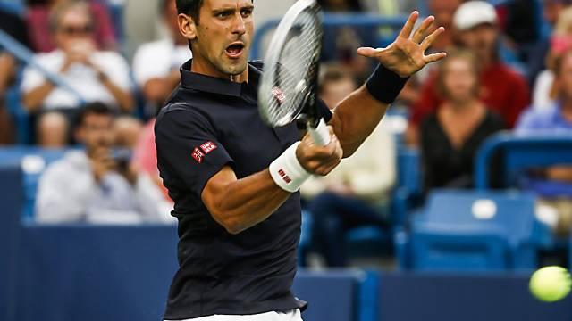 Novak Djokovic musste gegen Gilles Simon lange kämpfen.