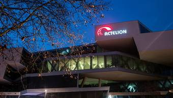 Gegen 1000 Mitarbeitende zählt Actelion am weltweiten Sitz in Allschwil – nach der Übernahme durch Johnson&Johnson könnte die Gemeinde unter anderem die neue Forschungsabteilung beherbergen.Keystone