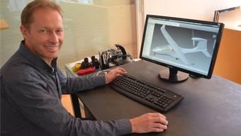 Initiant Rolf Stuber steckt schon seit Jahren viel Freizeit in das Projekt Smartflyer.