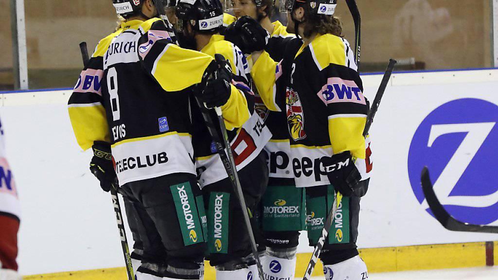 Nach dem überraschenden Sieg gegen Lausanne will Ajoie auch im Achtelfinal des Schweizer Cup wieder jubeln