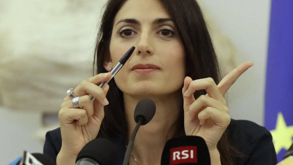 Roms Bürgermeisterin Virginia Raggi sprach sich öffentlich gegen eine Kandidatur für die Olympischen Spiele 2024 aus