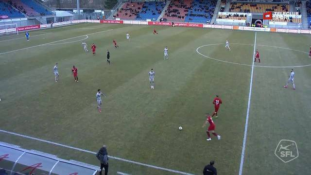 Challenge League 18/19 Runde 22: FC Vaduz-FC Aarau 24.2.19 - 1:0 FC Vaduz