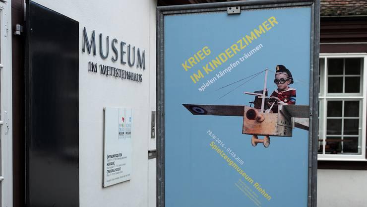 Die Sonderausstellung im Spielzeugmuseum Riehen heisst «Krieg im Kinderzimmer».