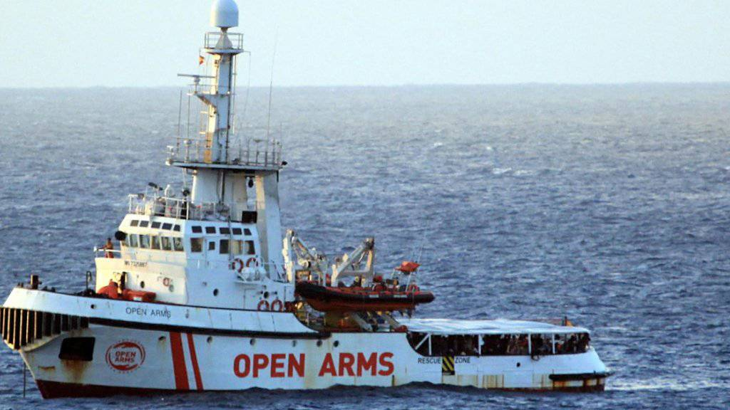 28 Minderjährige verlassen «Open Arms»