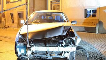 Glatteis-Unfall in Ormalingen