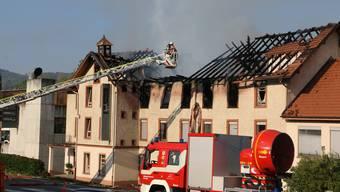 Grossbrand in Herznach