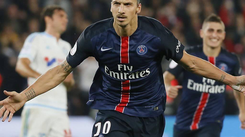 Ibrahimovic erzielte zwei Tore für PSG