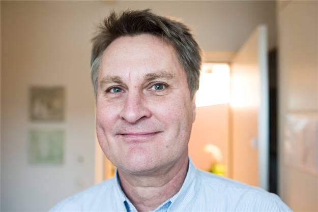 Rolf Tschannen, Geschäftsleiter des Vereins Hospiz Aargau: «Je länger, je mehr Menschen brauchen in ihrer letzten Lebensphase fachliche und persönliche Betreuung.»