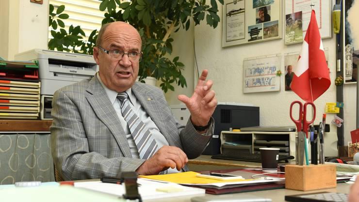 Der frühere Baselbieter SVP-Nationalrat Christian Miesch soll Geld vom Kasachstan-Lobbyisten Thomas Borer angenommen haben. (Archivbild)