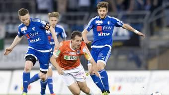Den FC Wohlen zeigte gegen Neuchâtel Xamax eine engagierte Leistung (Archivbild).