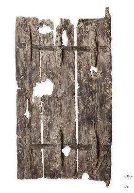 Zu den aussergewöhnlichsten Funden gehört sicherlich die zweitälteste Tür der Welt.
