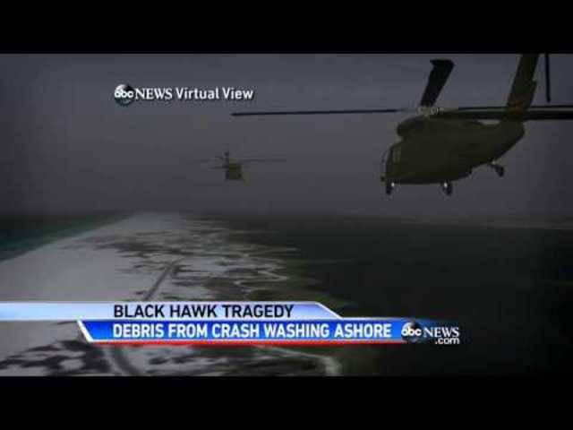 Helikopter-Crash bei Florida: Jetzt werden die Wrack-Teile angespült.