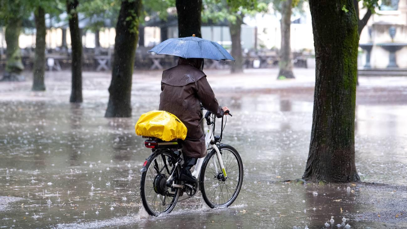 Der Herbst kommt und bringt den Regen zurück.