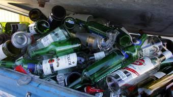 Soll gratis bleiben: Das Entsorgen von Altglas.