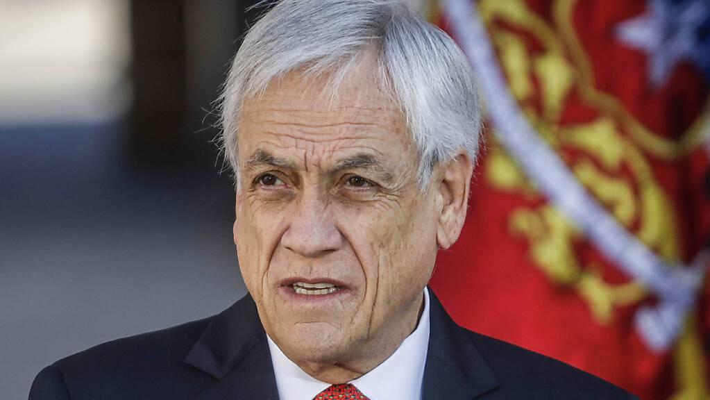 Sebastián Piñera, Präsident von Chile.