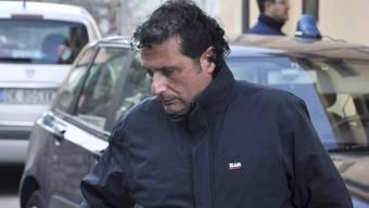 """Der Kapitän der """"Costa Concordia"""", Francesco Schettino, muss möglicherweise zurück ins Gefängnis (Archiv)"""