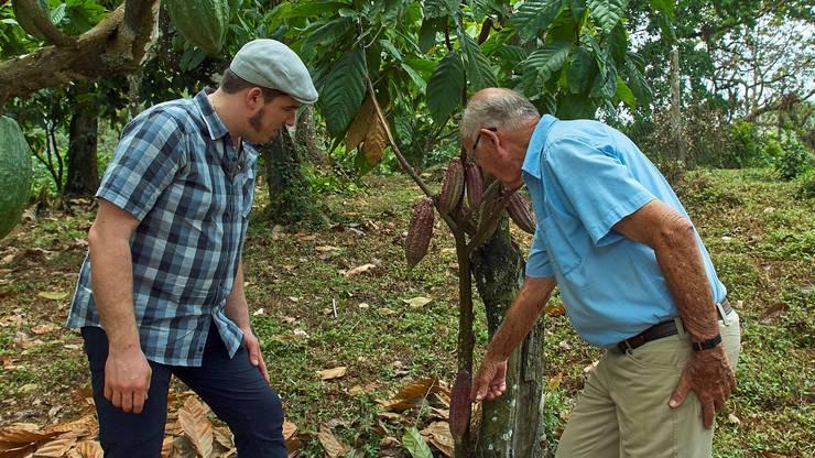Rimann hat Charles Merry letztes Jahr auf dessen Plantage in Trinidad besucht.