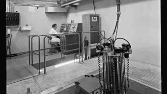 Der älteste Atomreaktor der Schweiz muss dem Uni-Neubau weichen.