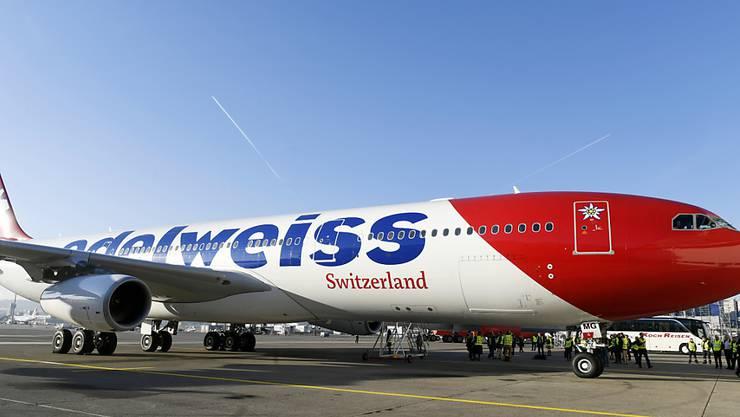 Die Fluggesellschaft Edelweiss bringt nächste Woche über 600 in Südamerika gestrandete Schweizer Touristen nach Hause. (Archivbild)