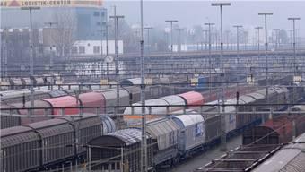 Auf dem Areal des Rangierbahnhofs Limmattal ist der Gateway geplant.