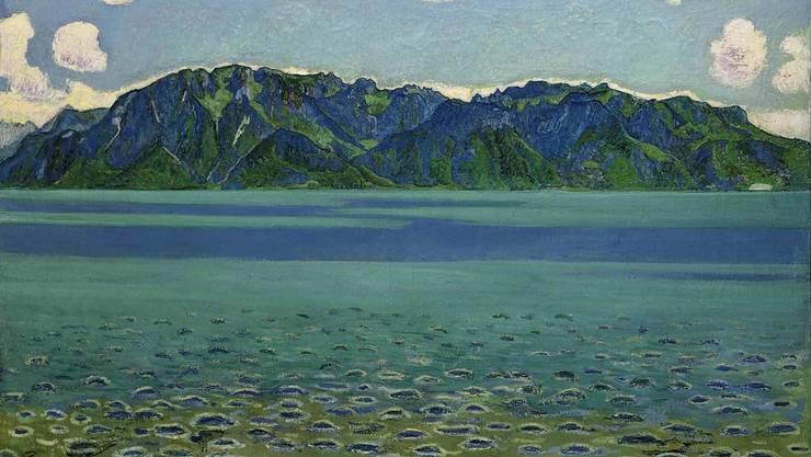 Aus Christoph Blochers Sammlung, ab Herbst in Winterthur zu sehen: Grammont von Hodler (1905).