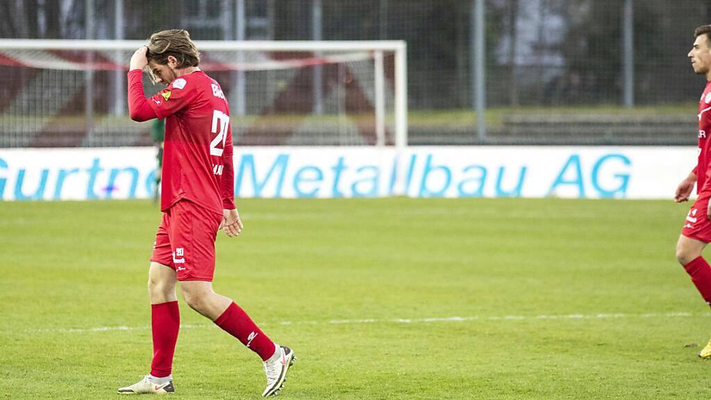 Dem FC Winterthur will im Heimspiel gegen Aarau kein Tor gelingen