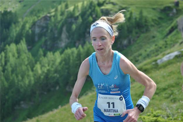 2016 am Glacier 3000 Run in Gstaad